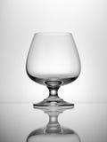 Pusty Brandy szkło zdjęcie stock