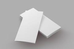 Pusty broszurka papier obrazy royalty free