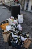 PUSTY butelka odpady Zdjęcie Stock