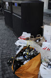 PUSTY butelka odpady Obraz Royalty Free