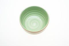 Pusty ceramiczny puchar Fotografia Royalty Free