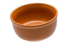 Pusty ceramiczny puchar fotografia stock