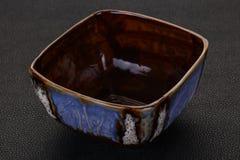 Pusty ceramiczny puchar obrazy stock