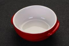 Pusty ceramiczny puchar zdjęcia stock