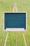 Pusty chalkboard z sztalugą Obrazy Royalty Free