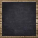 Pusty czarny chalkboard tło fotografia royalty free