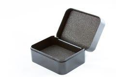 pusty czarny pudełko Obraz Stock