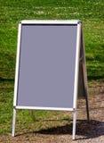 pusty deska menu Fotografia Stock