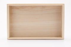 Pusty drewniany Fotografia Stock