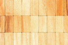 Drewniana blokowa tekstura Obrazy Royalty Free
