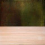 Pusty drewniany stół ilustracja wektor