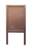 Pusty drewniany znak Fotografia Stock