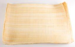 Pusty Egipski papirus Zdjęcia Royalty Free