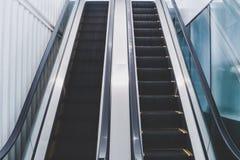 Pusty eskalator Zdjęcie Royalty Free