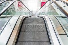 Pusty eskalator Obraz Stock