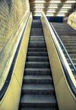 Pusty eskalator Obrazy Stock