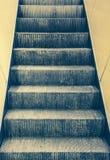Pusty eskalator Fotografia Royalty Free