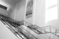 Pusty eskalator 4 i schodki Obraz Royalty Free