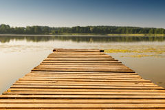 Pusty footbridge Zdjęcia Stock