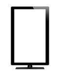 Pusty graficzny komputerowy monitor z ścinek ścieżką dla ekranu Zdjęcia Stock