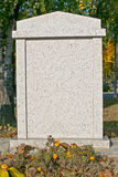 pusty gravestone Fotografia Stock