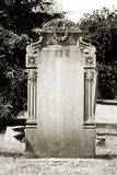 Pusty headstone Fotografia Stock