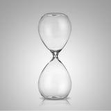 Pusty hourglass zdjęcia stock