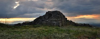 Pusty hrad Στοκ φωτογραφία με δικαίωμα ελεύθερης χρήσης