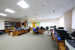 Pusty i przestronny biuro Obrazy Stock