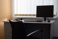 pusty interrior miejsca pracy warsztat Zdjęcie Royalty Free