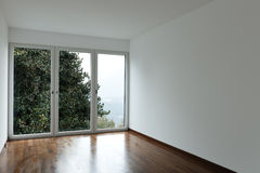 pusty izbowy okno Obraz Royalty Free
