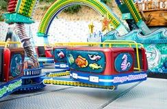 Pusty kabinowy carousel Obrazy Royalty Free