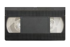 pusty kasety wideo Zdjęcie Royalty Free
