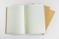 Pusty katalog, magazyn, książkowy szablon z miękkimi cieniami przygotowywający Zdjęcie Stock