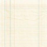 Sepiowy prążkowany papieru prześcieradła tło lub textured Obraz Royalty Free