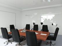 pusty konferencja pokój Zdjęcia Royalty Free