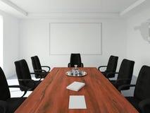 pusty konferencja pokój Obrazy Stock