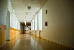 pusty korytarz długo zdjęcie royalty free
