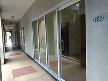 pusty korytarz długo zdjęcie stock