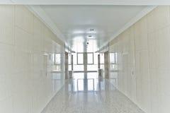 pusty korytarza biuro Zdjęcia Royalty Free