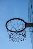 Pusty koszykówka obręcz Zdjęcie Royalty Free