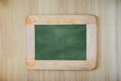 Pusty Kredowej deski tło, puste miejsce/ Blackboard tło Zdjęcia Stock