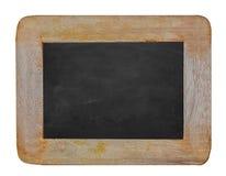 Pusty Kredowej deski tło, puste miejsce/ Blackboard tło Fotografia Stock