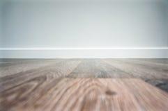 Pusty laminat podłoga tło Obraz Stock