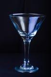 Pusty Martini szkło Zdjęcia Stock
