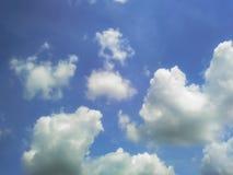 Pusty niebieskie niebo Obraz Stock