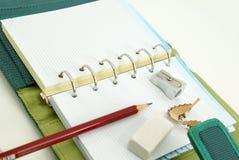 Pusty notatnik Zdjęcia Stock