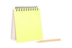 pusty notatnik zdjęcie royalty free
