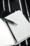 pusty notatnik strona Zdjęcie Royalty Free