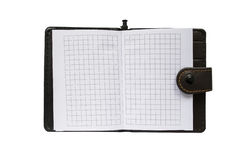 pusty notepad Fotografia Royalty Free